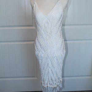 Gorgeous Silky Ashley Stewart Midi Dress